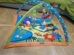 Развивающий коврик Tiny love солнечный день плюс игрушки в подарок