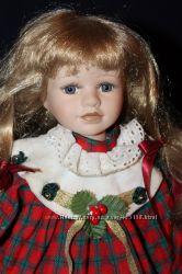 Фарфоровая кукла Германия 40 см Janus Nostalgie Collection