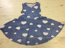 Платье для девочек 98-128р. 1775