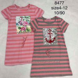 Платье для девочек 4-12 лет. 8477