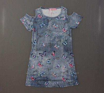 Платье для девочек 4-12 лет. 1776
