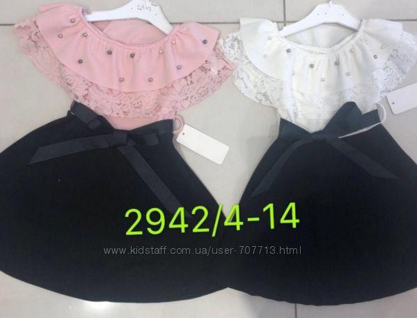 Платье для девочек 4-14 лет. 2942