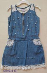 Платье для девочек 4-14 лет. 57022