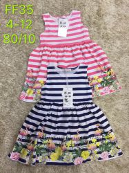 Платье для девочек 4-12 лет. 35