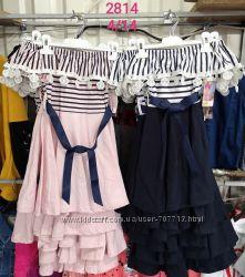 Платье для девочек 4-14 лет. 2814