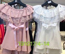 Платье для девочек 4-14 лет. 191017