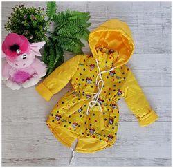 Куртка деми для девочек 86-104р. 2016