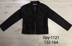 Куртка деми для девочек 122-164р. 1121