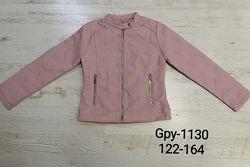 Куртка деми для девочек 122-164р. 1130