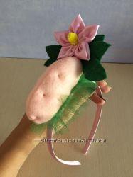 Костюм комплект картошки Картошка картопля, обруч юбка