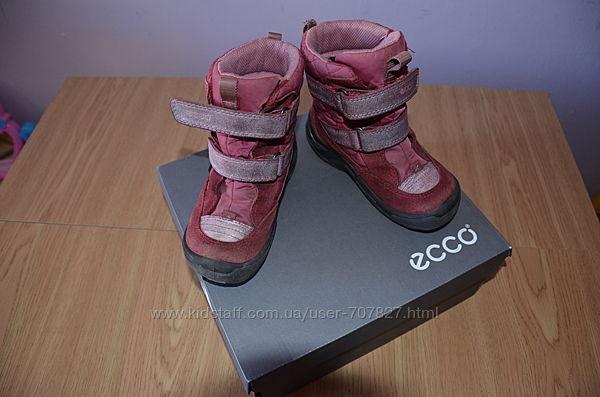 зимові черевички ЕССО для дівчинки