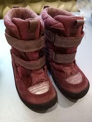 Зимние термо ботинки 26р ECCO на девочку, мембрана, core Tex