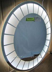 Зеркало с LED подсветкой Д-800мм