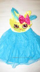 Карнавальное  платье Shopkins на девочку 7-8 лет, рост 122-128 см.