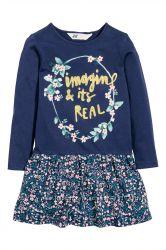 Красивое платье H&M на девочку 4-6 лет