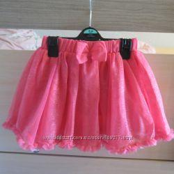 Нарядная блестящая юбка-пачка Palomino C&A, размер 116 см