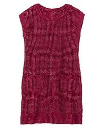 Красивое вязаное платье-сарафан CRAZY8 на девочку 5-6 лет
