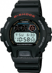 Оригинал, новые в наличии мужские часы Casio G-Shock DW6900-1V
