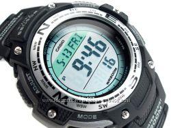 Оригинал новые мужские часы Casio SGW-100-1VER Компас, Термометр