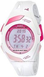 Оригинал  Новые Женские часы Casio PHYS STR-300-7 для бега и фитнеса