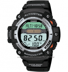 Оригинал новые часы Casio SGW-300H-1AVER альтиметр, барометр