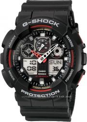 100  оригинал новые мужские часы Casio G-Shock GA100-1A4