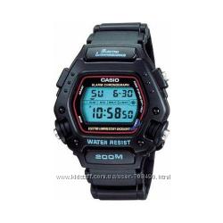 Оригинал, новые мужские часы Casio DW290-1V водонепроницаемые