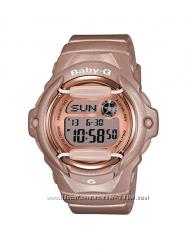 Оригинал, новые женские часы Casio BG169G-4 Baby G Pink противоударные