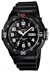 Оригинал, новые мужские часы Casio MRW200H-1BV водонипроницаемые