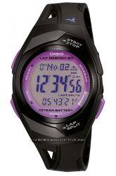 Оригинал  Новые Женские часы Casio PHYS STR-300-1C для бега и фитнеса