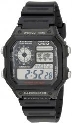 Оригинал мужские часы Casio AE-1200WH-1AV