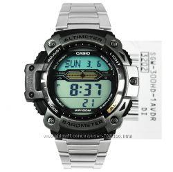 Оригинал, новые часы Casio SGW-300HD-1AV альтиметр, термометр