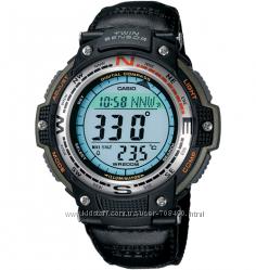 Оригинал, новые Мужские часы Casio SGW-100B-3VER Компас, Термометр