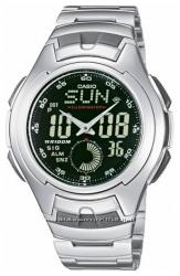 Оригинал, новые мужские часы Casio AQ-160WD-1BV водонепроницаемые