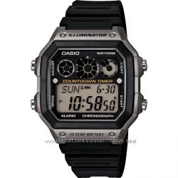 Оригинал, новые мужские часы Casio AE-1300WH-8AVCF Illuminator
