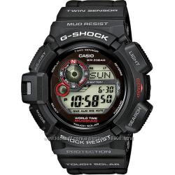Оригинал, новые мужские часы Casio G-Shock G-9300-1 MUDMAN