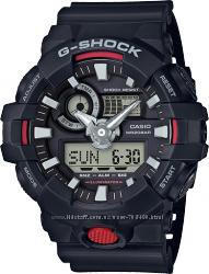 Оригинал, новые мужские часы Casio G-Shock GA-700-1AER