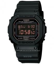 Оригинал, новые мужские часы Casio DW-5600MS-1CR black