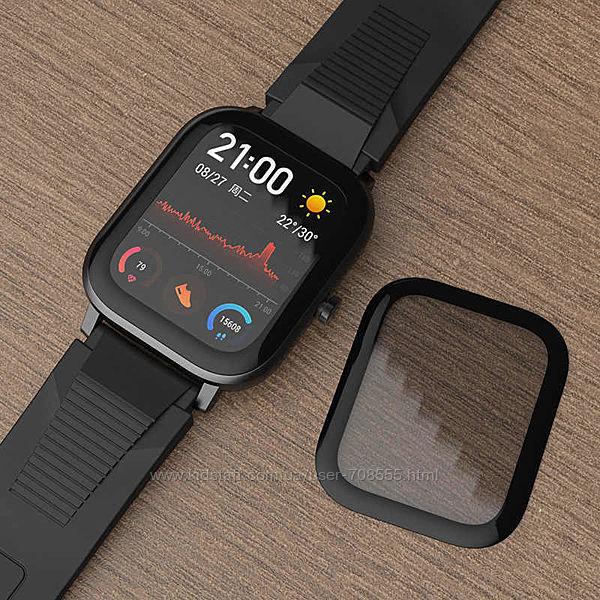 3D стекло Xiaomi Amazfit Gts амазфит ксиоми часы смарт браслет фитнес