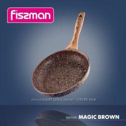Сковороды с каменным покрытием FISSMAN MAGIC BROWN