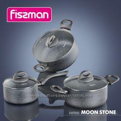 Сковороды и кастрюли Fissman серии Moon Stone