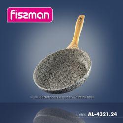 FISSMAN Сковороды  с каменным покрытием CREMA NOVA и  COSMIC BLACK