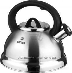 Чайник со свистком 2. 4 л Vinzer Fischio 89011