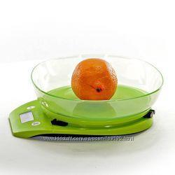 Весы кухонные электронные Fissman салатовые EL-0324. KS