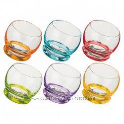168054 Набор Bohemia Crazy стаканов вода 390мл-6шт