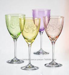 Набор Bohemia FANTASY бокалов вина Q8794 250мл-4шт