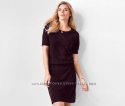 Шикарное трикотажное платье XL 48-50 евро Тсм Tchibo.