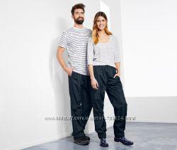 Непромокаемые функциональные брюки штаны унисекс XS 32-34 евро Тсм Tchibo.