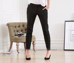 Шикарные черные брюки L 46 евро Тсм Tchibo.