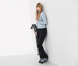 Лыжные термо брюки штаны на флисе М 42 евро Тсм Tchibo Snow Tech.